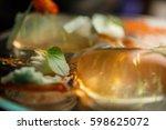 molecular gastronomy | Shutterstock . vector #598625072