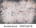 abstract grungy background   Shutterstock . vector #598763678