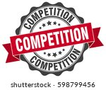 competition. stamp. sticker.... | Shutterstock .eps vector #598799456
