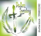 Handwritten Text   Palm Sunday...