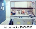 scientific background  blurred... | Shutterstock . vector #598802708