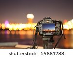 digital camera the night view... | Shutterstock . vector #59881288