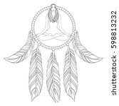 hand drawn illustration of...   Shutterstock .eps vector #598813232