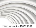 architectural vector 3d... | Shutterstock .eps vector #598821332
