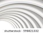 architectural vector 3d... | Shutterstock .eps vector #598821332