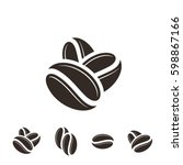 coffee. icon set. isolated...