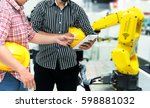 industry 4.0 internet of things ... | Shutterstock . vector #598881032