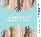 international day for the...   Shutterstock .eps vector #598894625