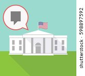 illustration of the white house ...