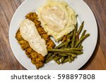 Chicken Fried Steak Served On A ...