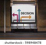 illustration of opportunities... | Shutterstock . vector #598948478
