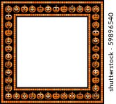 Vector Halloween Frame With...