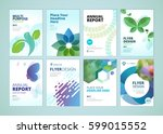 beauty and natural products... | Shutterstock .eps vector #599015552