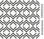 vector seamless pattern. modern ...   Shutterstock .eps vector #599055242