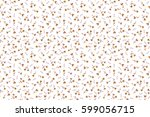 raster background with yellow... | Shutterstock . vector #599056715