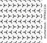 vector seamless pattern. modern ... | Shutterstock .eps vector #599061116