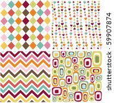 Colorful Seamless Patterns Wit...