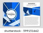 abstract vector layout... | Shutterstock .eps vector #599151662
