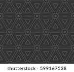 abstract repeat backdrop.... | Shutterstock .eps vector #599167538
