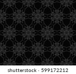 modern stylish texture.... | Shutterstock .eps vector #599172212