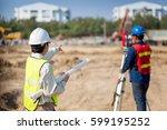 engineering concept civil...   Shutterstock . vector #599195252