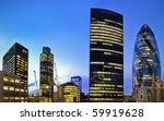 evening time shot of london's... | Shutterstock . vector #59919628