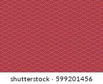 vector of vintage geometric... | Shutterstock .eps vector #599201456