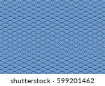 vector of vintage geometric... | Shutterstock .eps vector #599201462