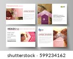 set of business templates for... | Shutterstock .eps vector #599234162