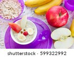 Funny Bunny Oatmeal Bowl With...