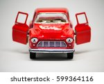a toy car. | Shutterstock . vector #599364116