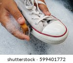 Shoes Or Sneakers In A Wash...