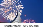 conquerors of space monument in ...   Shutterstock . vector #599422508