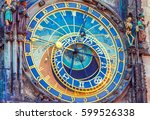 The Astronomical Clock  Old...