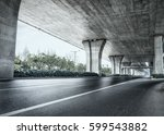 road and bridge | Shutterstock . vector #599543882