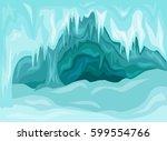 vector illustration of  inside... | Shutterstock .eps vector #599554766