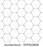 vector seamless pattern. modern ... | Shutterstock .eps vector #599563808