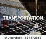 travel expedition destination... | Shutterstock . vector #599572868