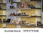 women shoes and handbags | Shutterstock . vector #599579348