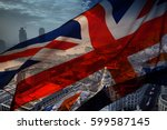 British Union Jack Flag And Big ...