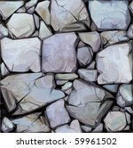Seamless Texture Of Stones In...