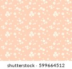 vector seamless pattern. cute... | Shutterstock .eps vector #599664512