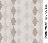rhombus seamless pattern.... | Shutterstock . vector #599729156