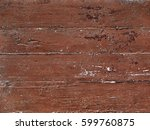 old wooden boards painted in...   Shutterstock . vector #599760875