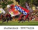 medieval games during the...   Shutterstock . vector #599776226