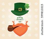 modern vector illustration of... | Shutterstock .eps vector #599813315