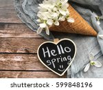 Hello Spring Chalkboard With...