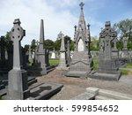 dublin   glasnevin cemetery  ... | Shutterstock . vector #599854652