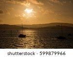 Sunset Over Exmouth Marina