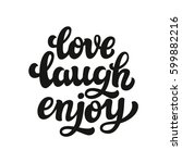 hand drawn typography text.... | Shutterstock . vector #599882216